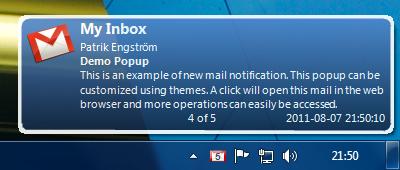 Gmail Notifier Pro