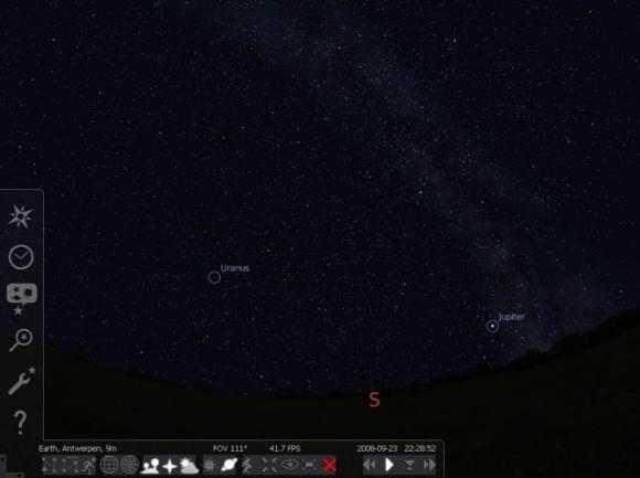 le logiciel stellarium gratuit