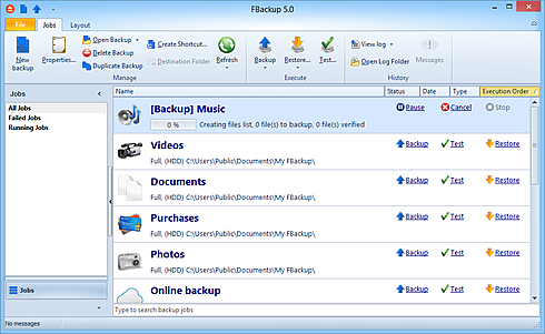 telecharger fbackup